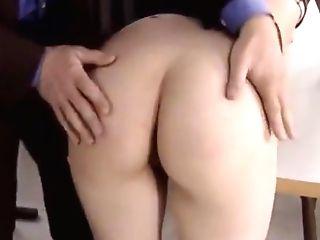 Blonde School Female Sucking Lecturer's Manhood