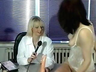 Interview Turns Into A Lezbo Pleasure