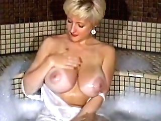 Danni Ashe At Home Taking A Bubble Bath