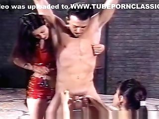 Loser Suffers Everything That Two Hot Mistresses Throw At Him