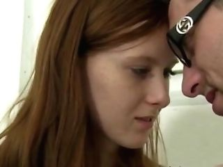 Retro German Nubile And Step Dad Teenage Rectal Red-haired Linda Penetrated By