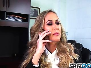 Spizoo - Hot Brandi Love Suck And Fuck A Big Dick, Big Booty & Big Udders