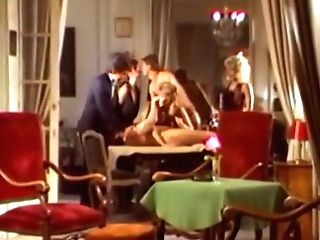 Amazing Adult Movie Star Sharon Mitchell In Fabulous Threeways, Antique Fuckfest Scene