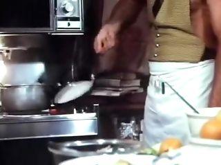 Jeffrey Hurst & Cj Laing Antique Hot Kitchen Hookup From Sweet Punkin
