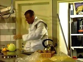 Sibel Bum-fucked In The Kitchen