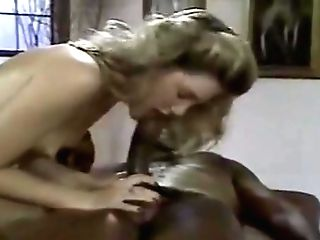 Youthfull Blonde Milky Woman With Older Black Man - Interracial