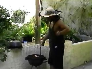 Bar B Que Groupsex - Scene 1